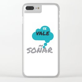 SE VALE SONAR Clear iPhone Case