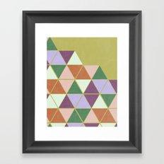 Hexaflexagon Framed Art Print