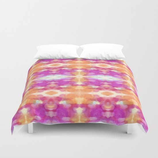 Happy Slice O Summer Duvet Cover