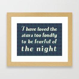 Love the Stars Framed Art Print