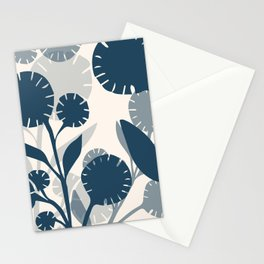 Wildflowers Large - Blue Stationery Cards