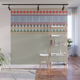 Ethnic Geo Pastel - Soft Colors Wall Mural
