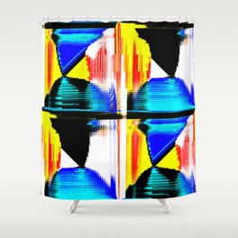 Packets Shower Curtain