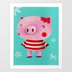 Piglet Art Print