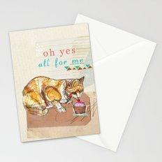 Illustration Friday- Dessert Stationery Cards