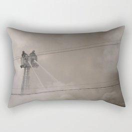 Up in Smoke Rectangular Pillow