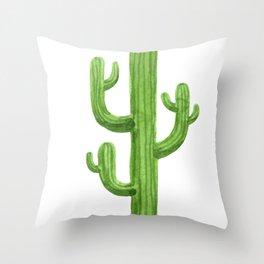 Cactus One Throw Pillow