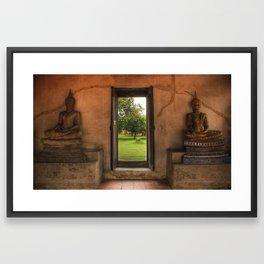 Buddha - Ayutthaya - Thailand Framed Art Print