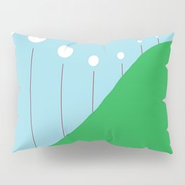 Abstract Landscape - Lights on the Hill Pillow Sham