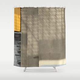 Shafted Shower Curtain
