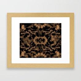 Tie-Dye Trip Framed Art Print