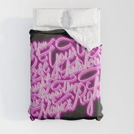 Daft Punk - Doin' It Right - Lettering Duvet Cover