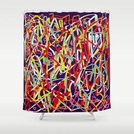 Laberinto 5 Shower Curtain