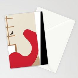 Inside Mid-century modern 121 Stationery Cards