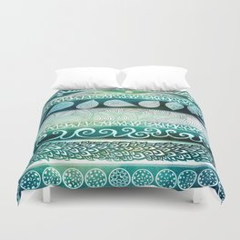 Dreamy Tribal Part VIII Duvet Cover