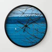 frame Wall Clocks featuring Frame by Kiersten Marie Photography
