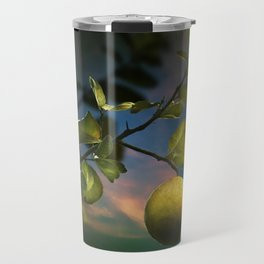 Lemon Tree at Night Travel Mug
