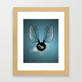 Fly with Me^^ Framed Art Print