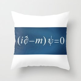 Equation of love Throw Pillow