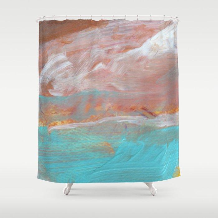 Mediterranean Shower Curtain By Jennifergauthier