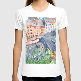 Luxembourg roofs T-shirt
