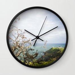 Irish cliffs Wall Clock