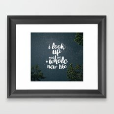 A New Life Framed Art Print