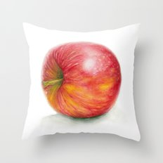 Side of an Apple Throw Pillow