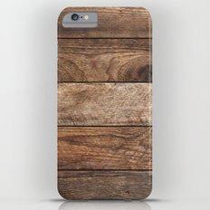 Vintage Wood iPhone 6s Plus Slim Case