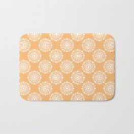 Kitchen cutlery circles Bath Mat