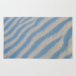Pattern, waves in the sand Rug