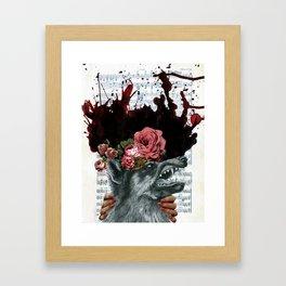Unwelcome Advances Framed Art Print