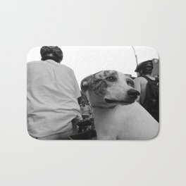 Dog on Wheels Bath Mat