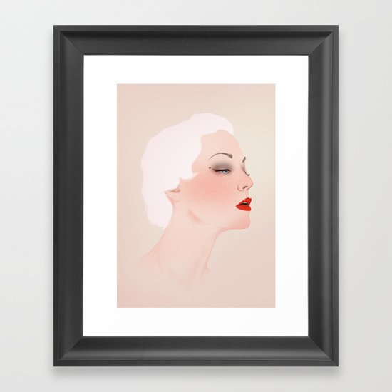 An Act Framed Art Print
