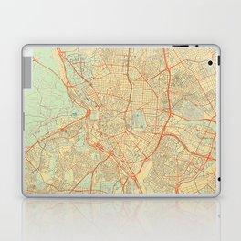 Madrid Map Retro Laptop & iPad Skin
