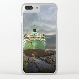 atmosphere · stranded Clear iPhone Case