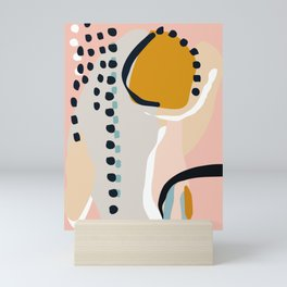 modern abstract Mini Art Print