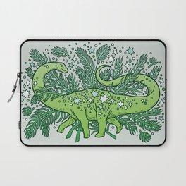 Winter Solstice Sauropod | Evergreens Palette Laptop Sleeve
