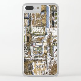 Winter Gardens  |  Drone Photography Clear iPhone Case