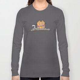 Mecha Kitty Long Sleeve T-shirt