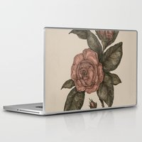 roses Laptop & iPad Skins featuring Roses by Jessica Roux