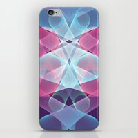 psychedelic art iPhone & iPod Skins featuring Psychedelic by Scar Design