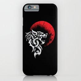 Viking Fenrir - Monstrous Wolf Norse Mythology iPhone Case