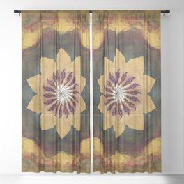 Arcane Sheer Curtain