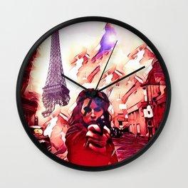Fire Fight Wall Clock