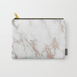 Rosey Marble Carry-All Pouch