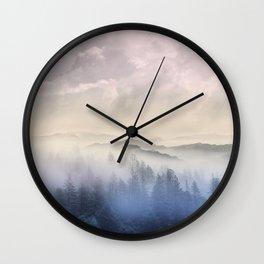 Pastel vibes 56 Wall Clock