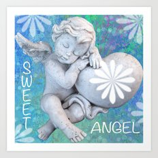 Sweet Angel Art Print