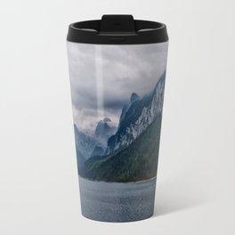 Traunsee Lake and Traunstein Mountains Travel Mug