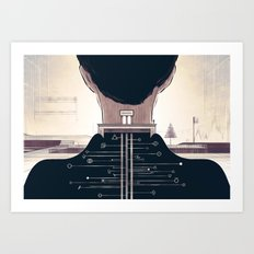 The Space Creator Art Print
